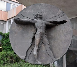 Statue at the Entrance of Faculty of Medicine