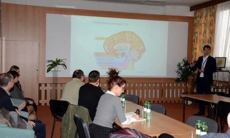 Presentation about results of research on Parkinson´s disease