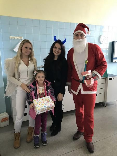 Dentistry students of Faculty of Medicine in Košice prepared St. Nicolaus surprice for children