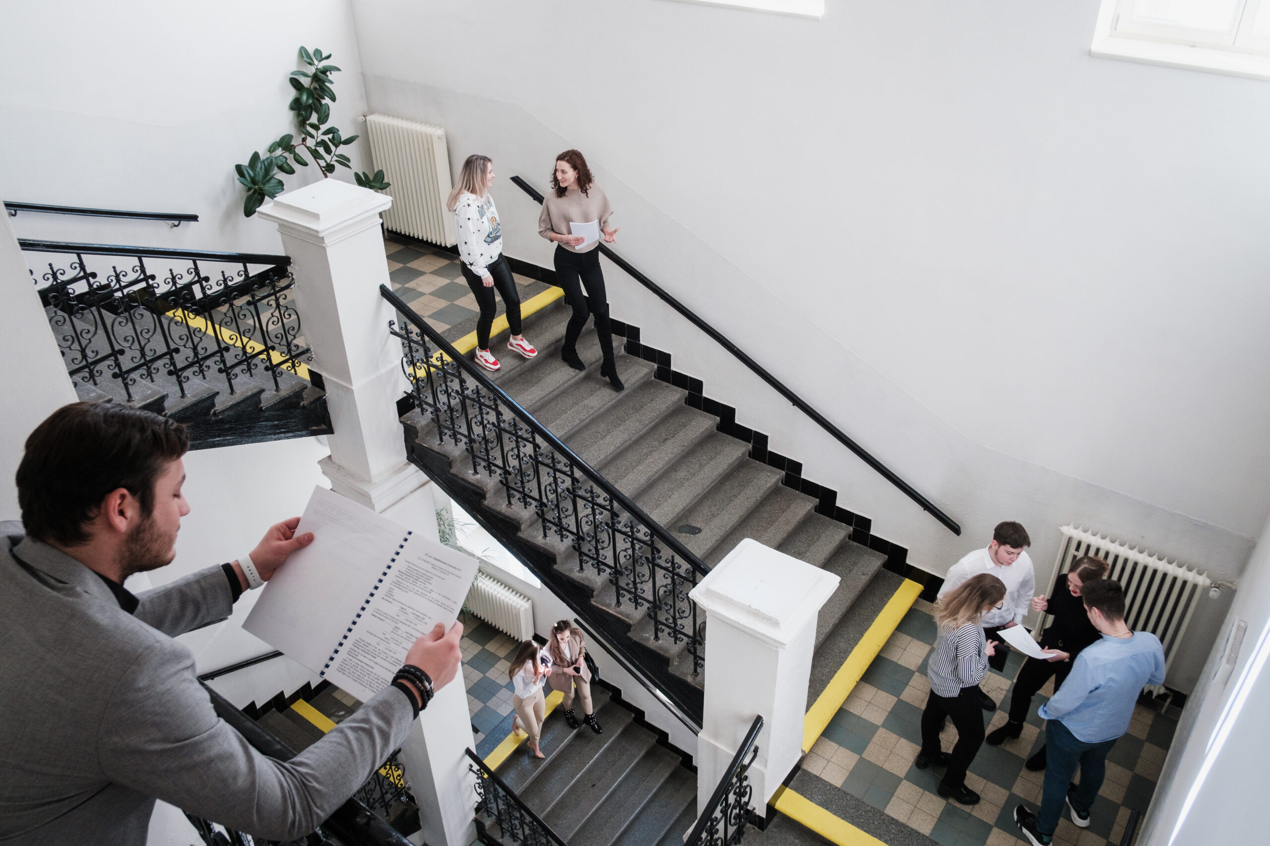 University hallway in Prague will soon welcome its first UPJS students